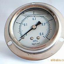 气压表YNZ60ZT抗震压力表耐震盘装表充油压力表