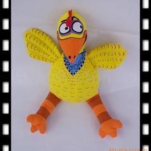 美国fatcat宠物玩具 宠物用品塑料 农场系列 网球 44大鸡