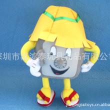 厂家定做 各类卡通玩具 四方人形卡通公仔 卡通毛绒玩具设