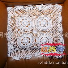 供应手钩台布,钩针桌布,针织桌布,手钩地毯。 TB-17