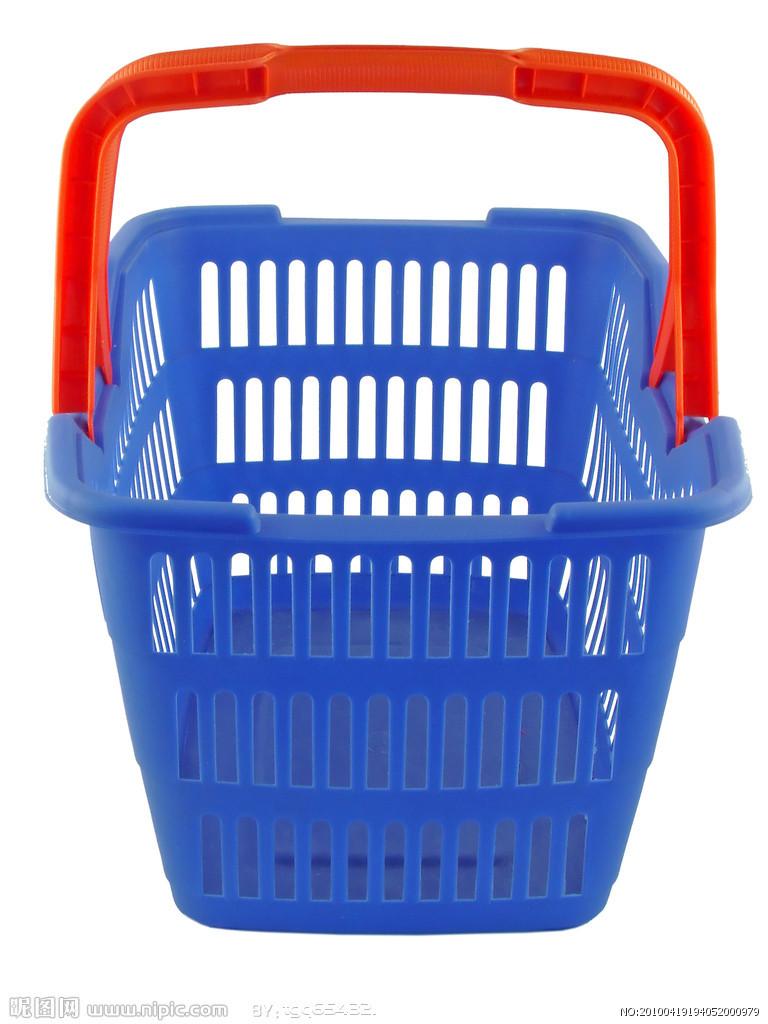 超市购物篮购物车模具果蔬篮买菜篮储物箱整理箱子塑料箱