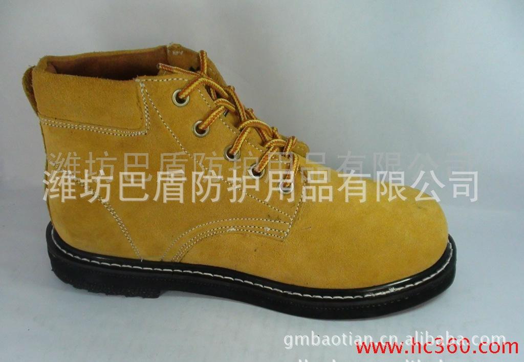 厂家直供三耐防砸机械工人专用劳保鞋 耐高温防砸轮胎底现