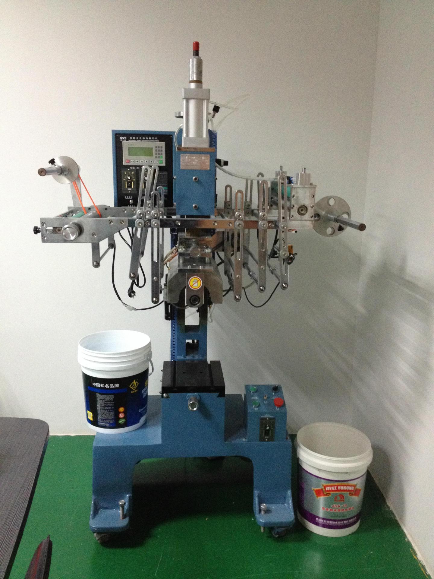 供应涂料桶全自动热转印机器