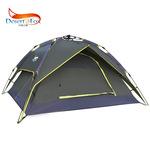 沙漠之狐戶外3-4人自動帳篷 雙人多人雙層野營露營帳篷 防雨防曬