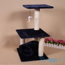 厂家供应 加粗剑麻缠绕猫爬架 益智猫玩具40x35x85