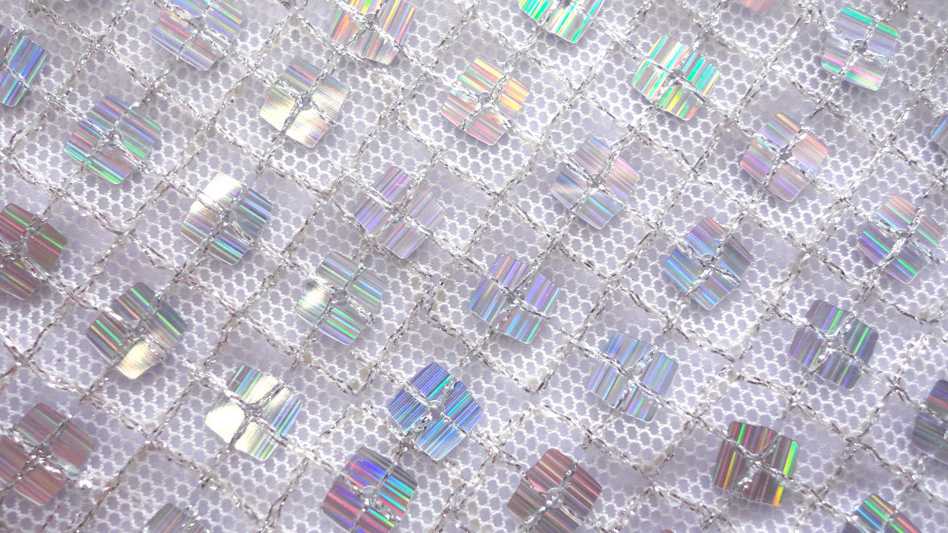 服饰辅料 方形网布珠片绣面料 金线 时尚服饰包袋 阿里巴巴