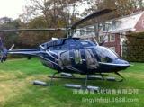 青岛私人飞机6s店 12款BELL贝尔407GX直升机 青岛直升机租赁出租