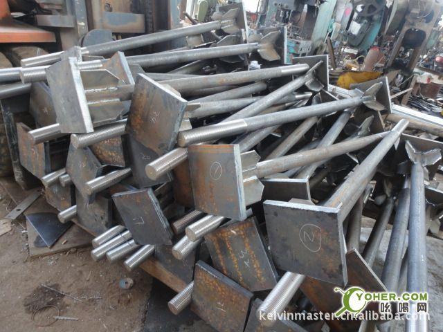 供应钢结构预埋用Q345B和Q345C地脚锚栓