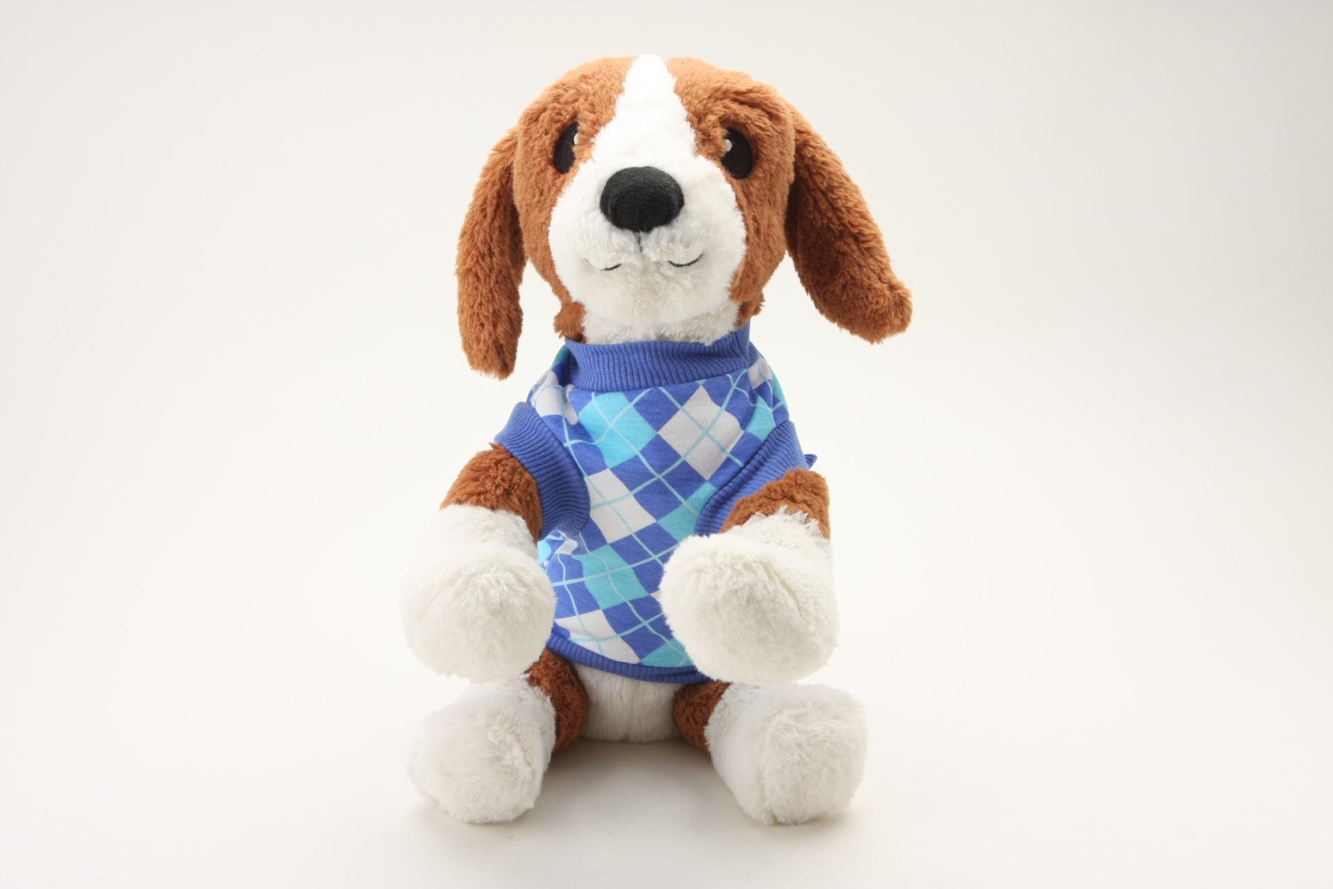 夏季新品上市 全棉狗狗服饰满印格子样式小狗衣服 热销款图片