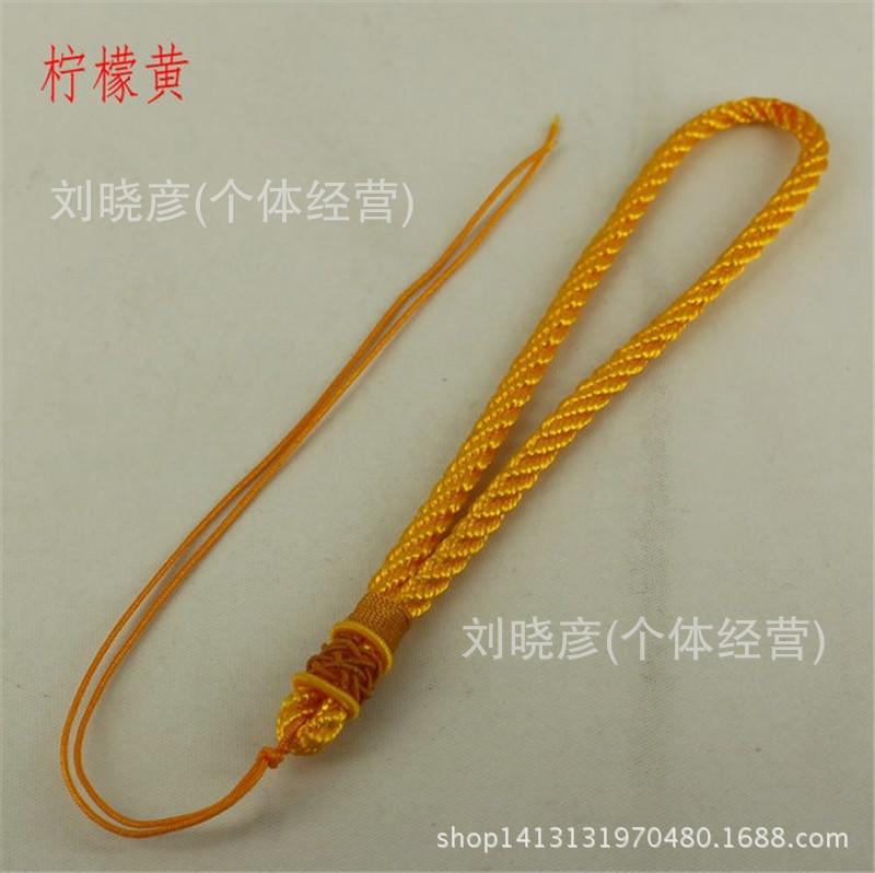厂家特供千眼菩提项链绳子 纯手工编织 手把件绳子零利润