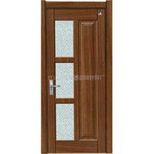 復合免漆門 歐式簡易電解板強化實木烤漆門 時尚隔音家用室內門