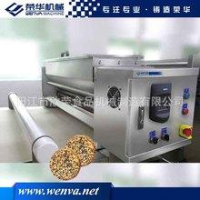 新型滚轴式撒芝麻机 多功能 撒糖盐机 饼干机 饼干生产线