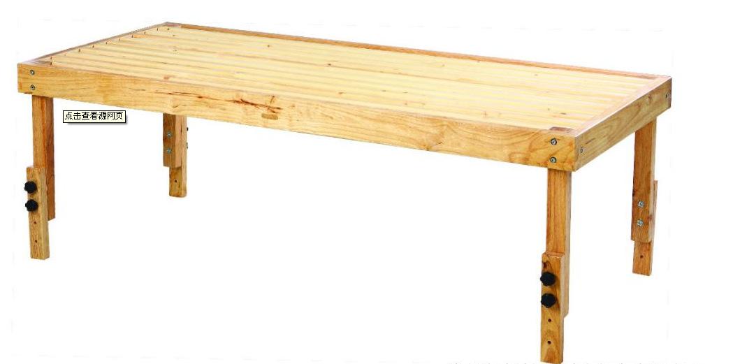 木条手工制作桌子
