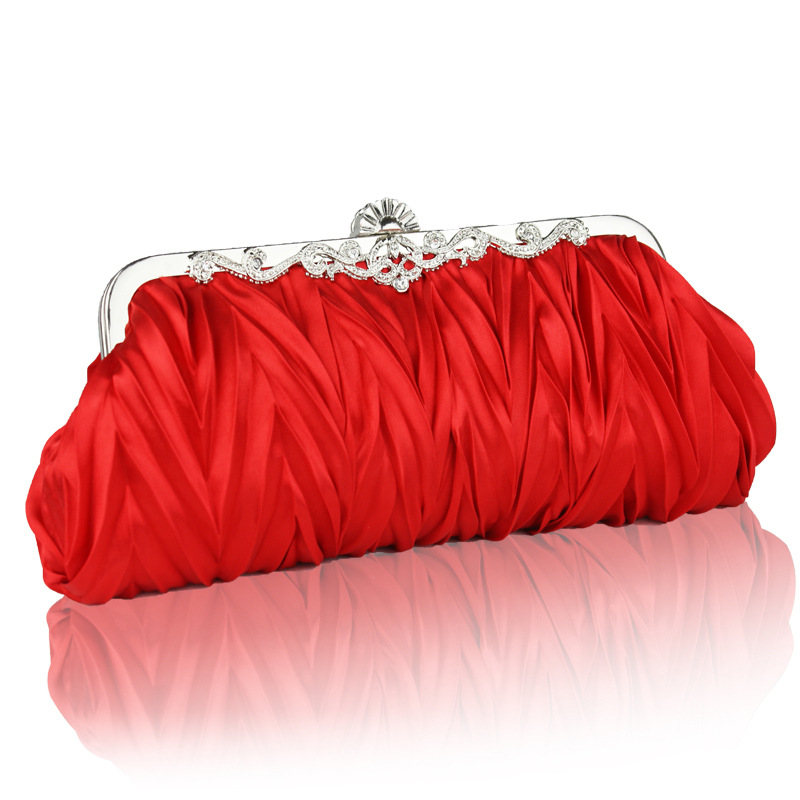 The new lady handbags hand bag dinner one shoulder hand bride bridesmaid wedding dress bag's main photo