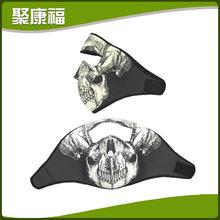 厂家批发 新颖全脸潜水料面罩 防风防水潜水料防护面罩