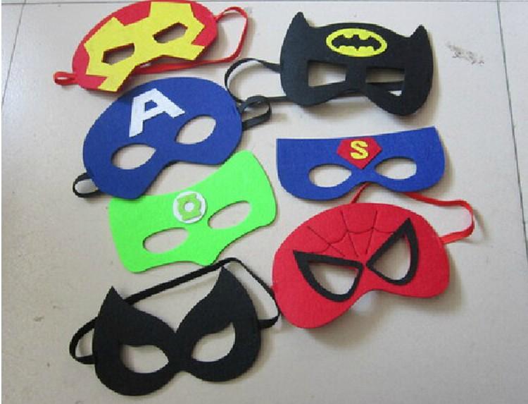 万圣节面具 爆款无纺布眼罩 毛毡蝙蝠侠面具 万圣节儿童 阿里巴巴