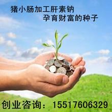 加盟农村家庭创业好项目加工肝素钠专利技术转让合作办厂产