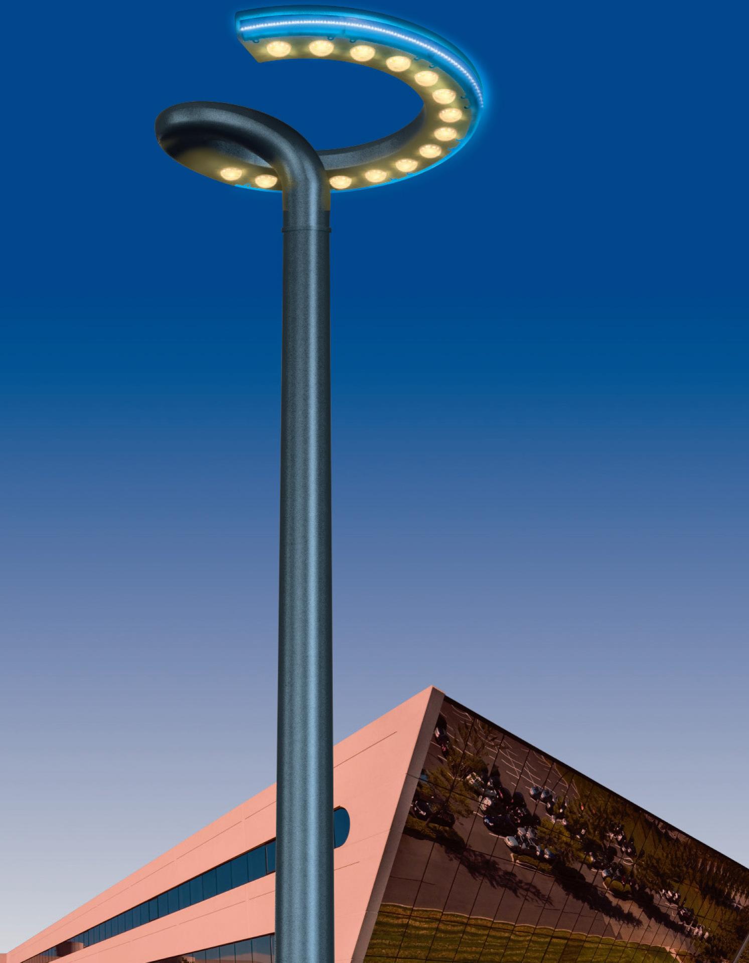 创意工业设计路灯设计