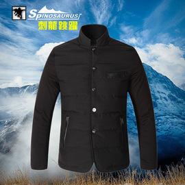 2014新款 厂家直销男士运动休闲保暖透气 羽绒西装