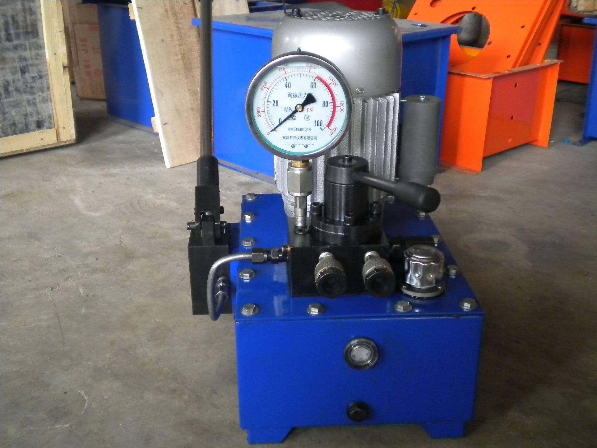 祥和供应 超高压电动泵 边立式液压泵 双向双作用液压油泵 高质量图片