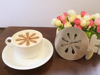 饼干模具_糖霜米苏蛋糕喷花印花模具/咖啡拉花装饰