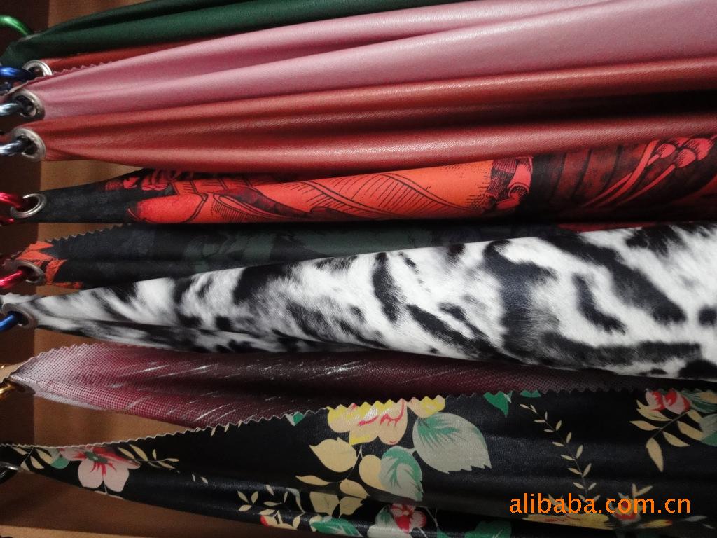 厂家批发人造革绵羊皮 优质弹力皮革面料 水洗服装面料