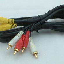 厂家直销 AV音视频连接线 3RCA对3RCA 三莲花头对三莲花头