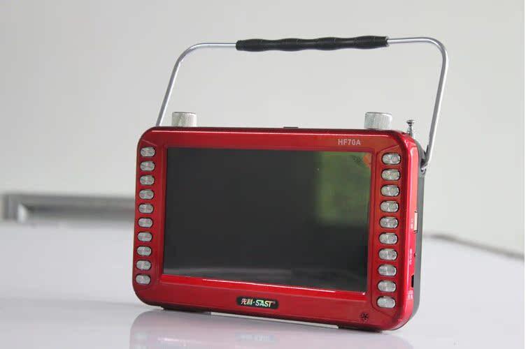 先科看戏机7寸视频扩音器喊话插卡音箱唱歌专用扩音器老年