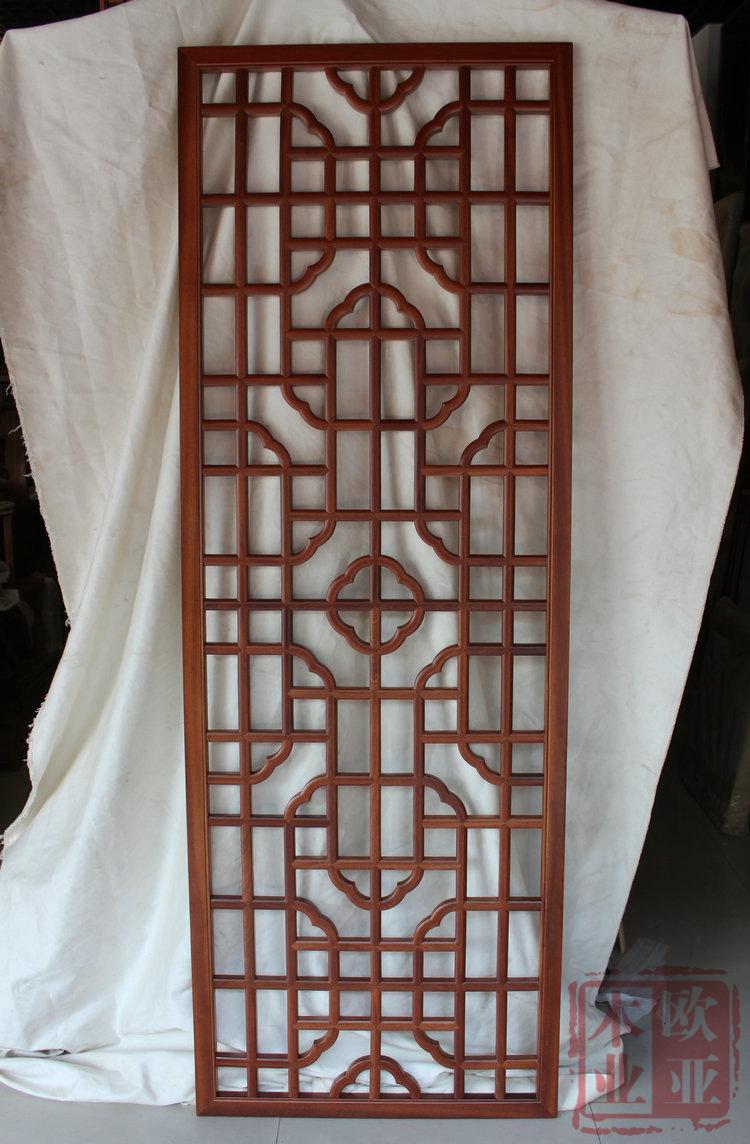 中式木花格 背景花格