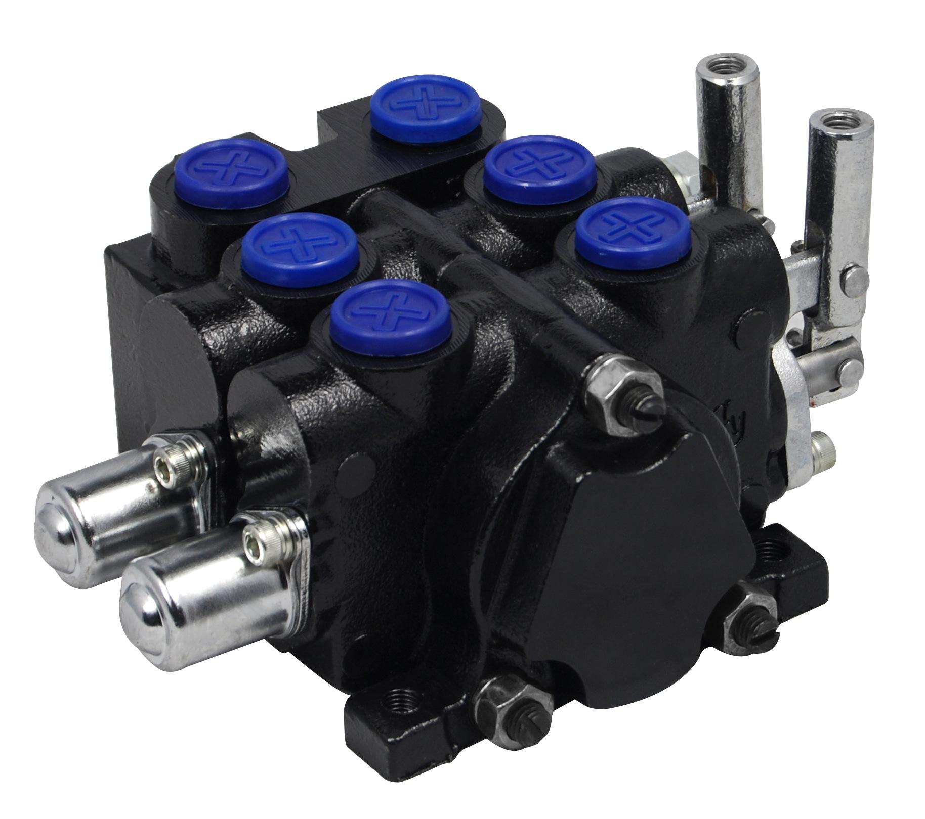 zcdb-l20-2ot液压多路阀,换向阀,手动阀 安全可靠 挖掘机多路阀图片