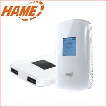 厂家直销 华美HAME 便携式wifi无线路由器移动电源路由器广告定制