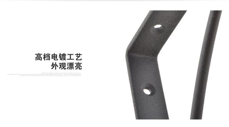 三角支架_外贸厂家欧式现代隔板管支架金属三角支架
