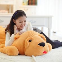 廠家批發可愛毛絨玩具狗抱枕沙皮狗靠墊公仔禮品代發網店代理