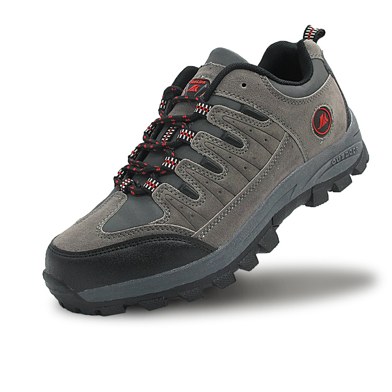 men's outdoor climbing shoes comfortable breathable hiking shoes's main photo