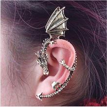 欧美潮流时尚 个性哥特朋克龙形无耳洞耳环耳夹 高品质厂家直销