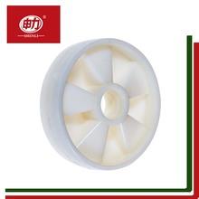 厂家直销 白色调节脚轮 优质万向脚轮 尼龙叉车轮单轮