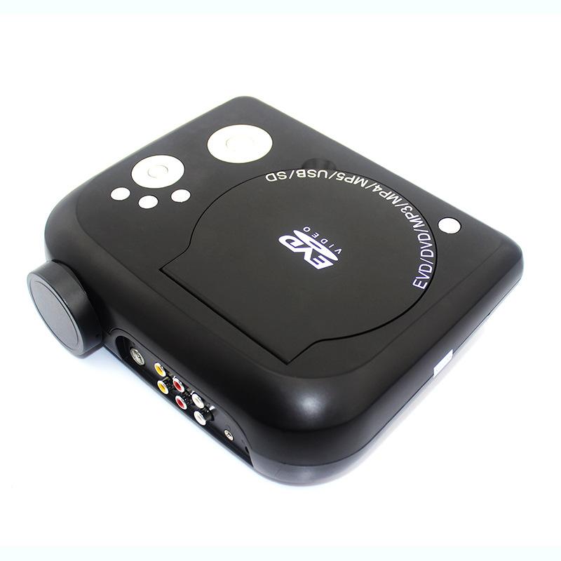 多功能超实惠便携式DVD投影机 多功能 家庭影院DVD投影机