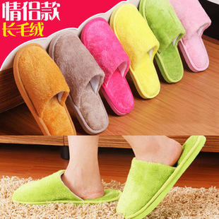 Manufacturers selling plush cotton slippers home indoor winter slippers shoes wholesale cheap cotton slippers wholesale