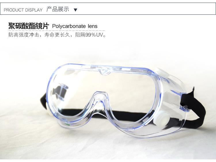正品3M1621护目镜防护 液体喷飞溅 冲击 风沙 防护眼镜批发图片十四