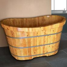 泡澡盆 桑拿沐浴缸 天然环保养生美容浴桶 木质成人洗浴盆