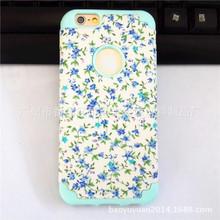 硅胶iphone6plus5.5寸贴布手机壳二合一pc+床头壳iphone6保护套abs苹果板图片