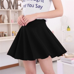 2016 Korean version of spring and summer women's high waist pleated skirt anti emptied bust child manufacturers whol