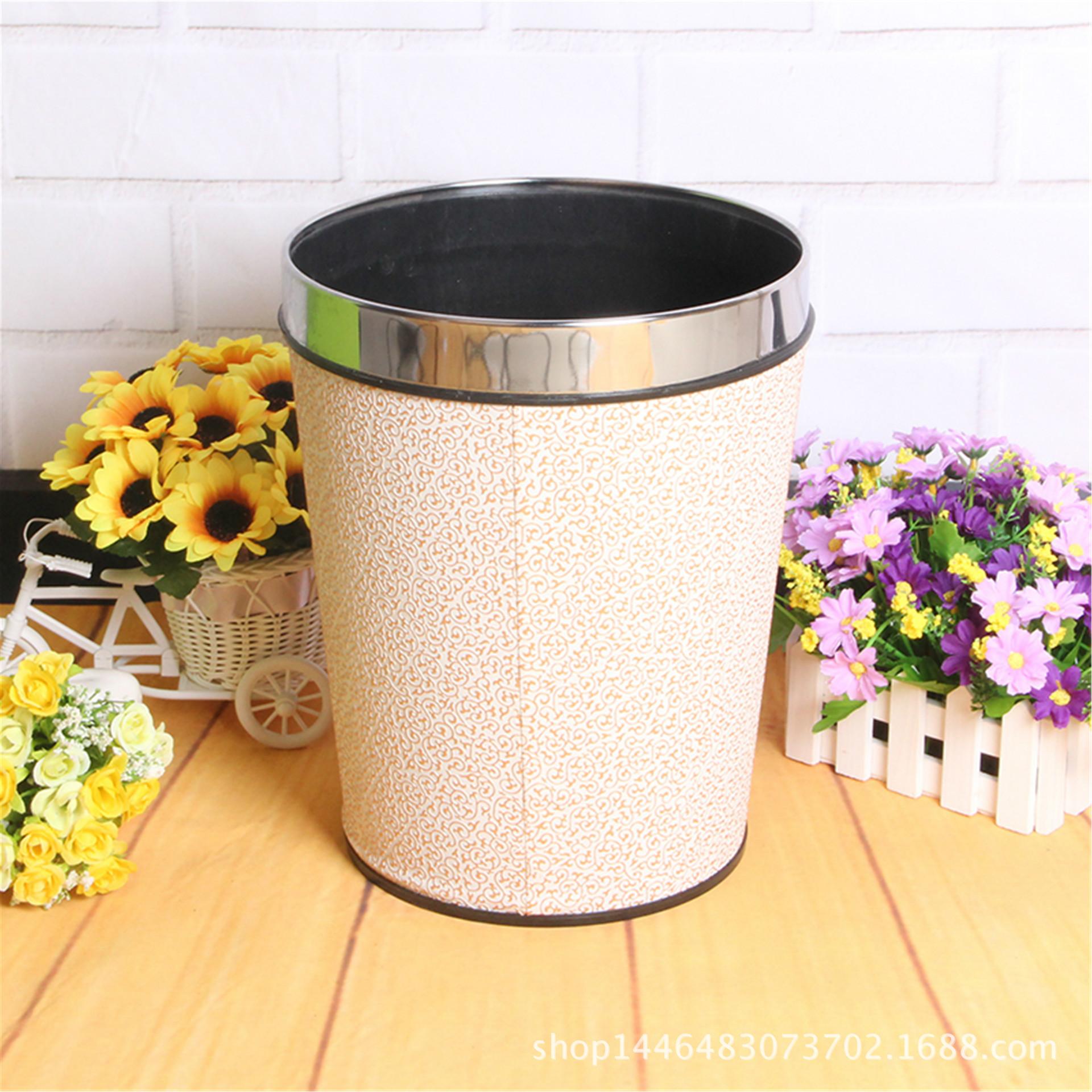 家用垃圾桶_新型带压耐用厨房卫生间家用垃圾桶