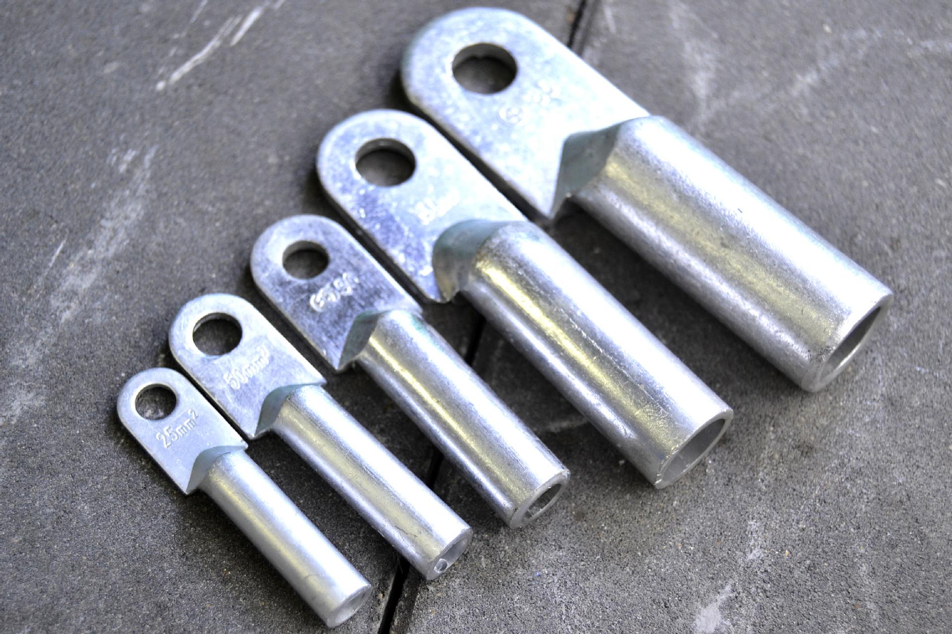 dl鋁線鼻子 鋁接線鼻子 冷壓鋁端子 鋁線耳