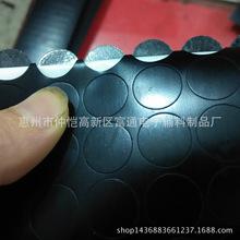 厂家直销绝缘密封垫片、自粘橡胶脚垫 、耐磨防滑硅胶垫规格定制