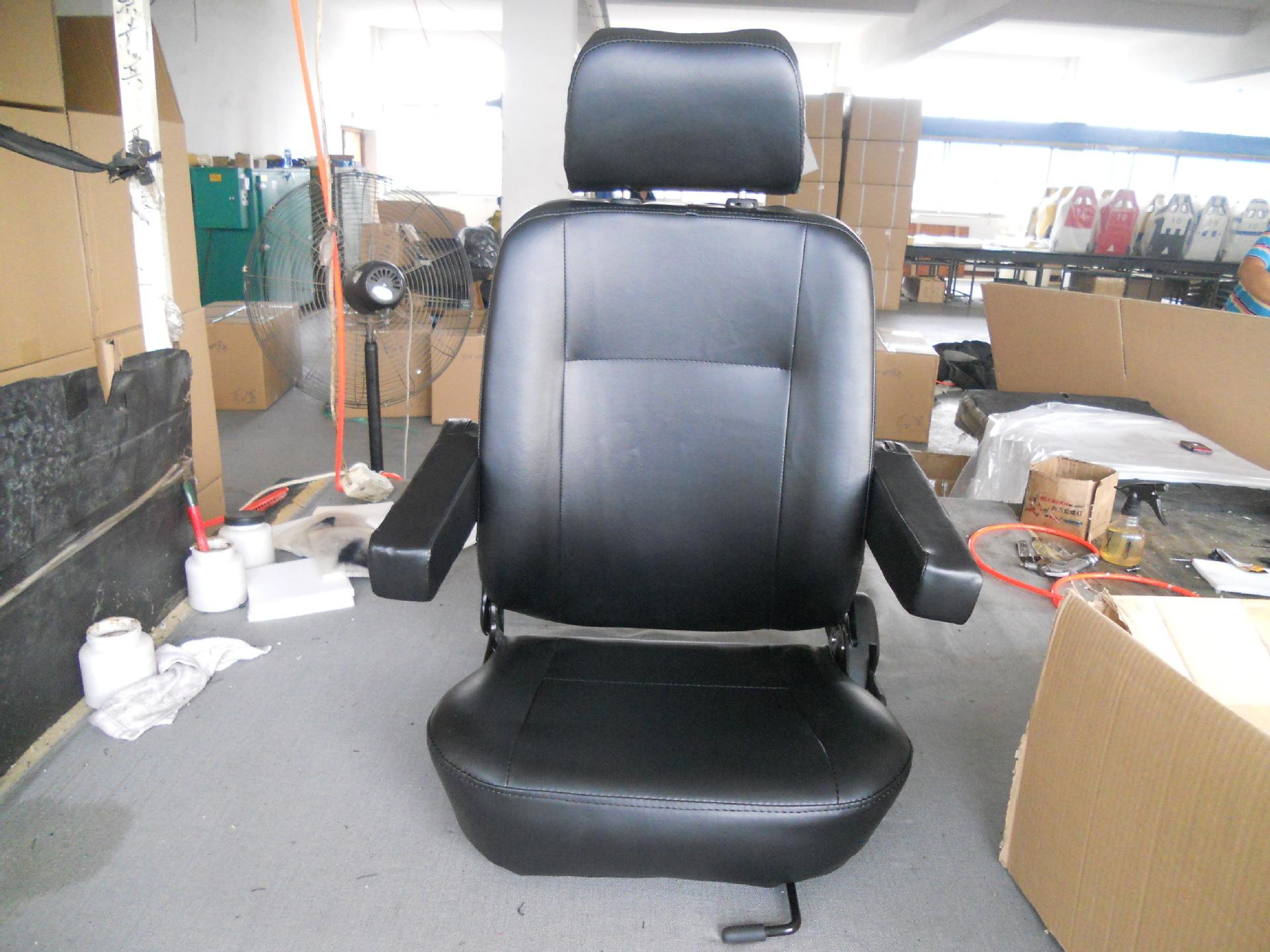 2)座椅面料:pvc人造革