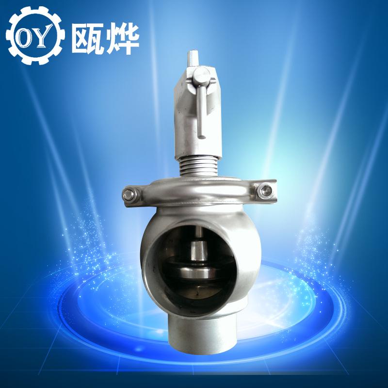 卫生级调节阀 手动流量调节阀 焊接流量调节阀图片