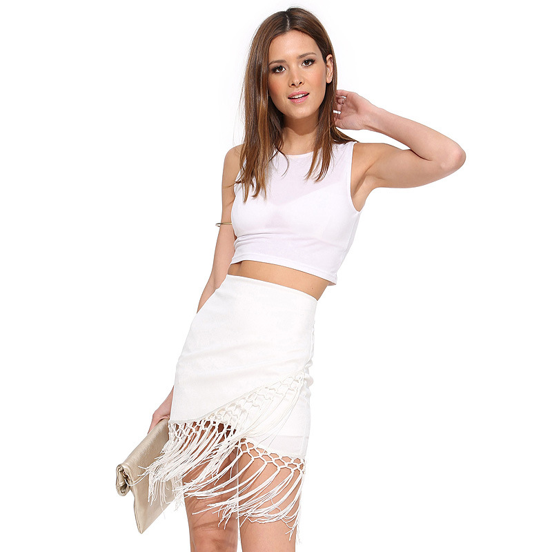 fashion sexy splicing skirts package buttocks short skirt's main photo