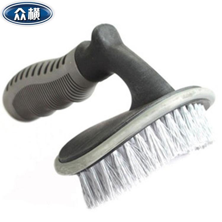 洗车工具 T字轮胎刷 汽车刷 轮毂刷轮胎清洁刷车用工具13-1B1123
