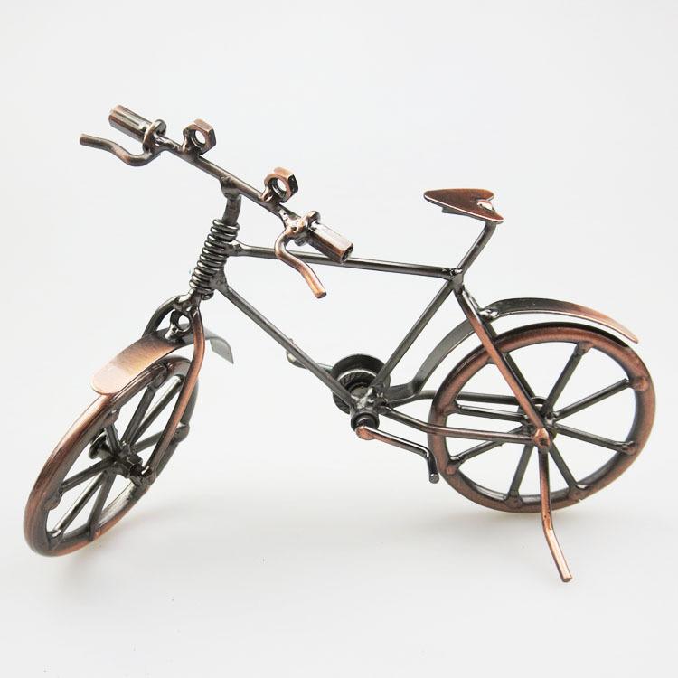 廠家直銷 特色旅游紀念品自行車模型鐵藝工藝品復古擺件 景區熱賣